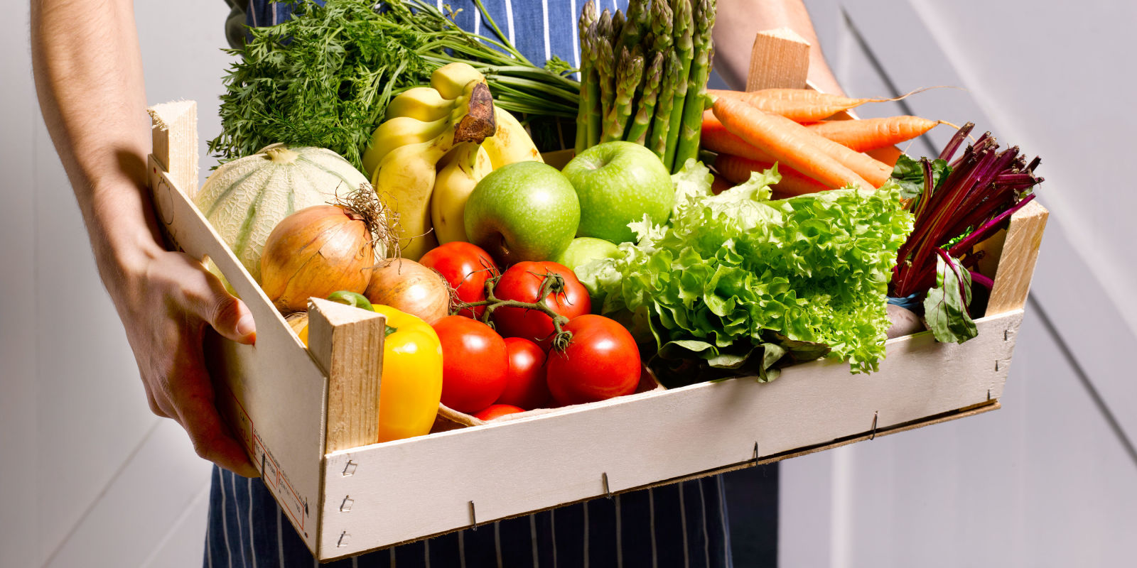 Five portions of fruit and veg a day