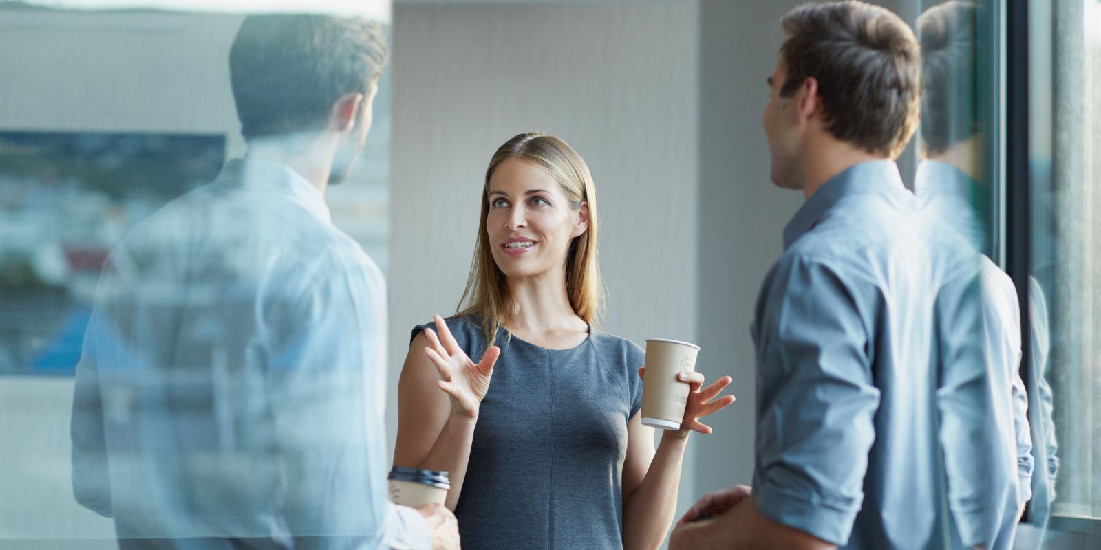 女性が自分の信頼を得るために話す方法