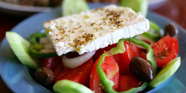 Tasty Greek salad