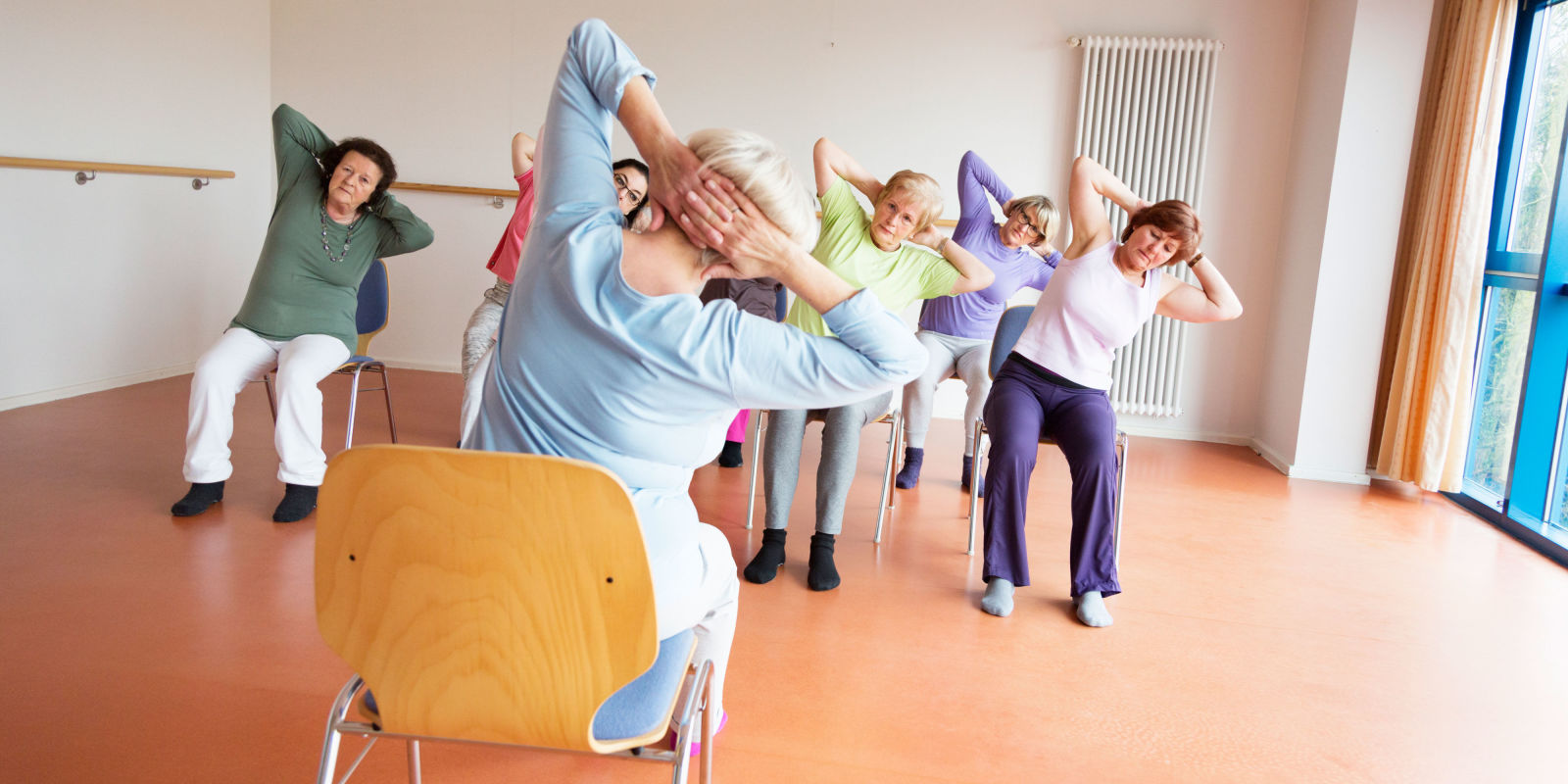 Chair yoga elderly - Chair Yoga Elderly 23