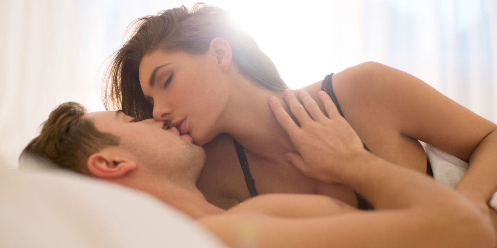 sexy couple fucking in bed