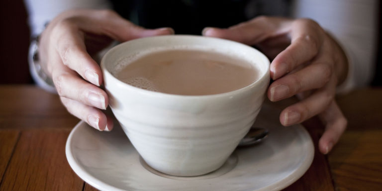 microwaving tea study